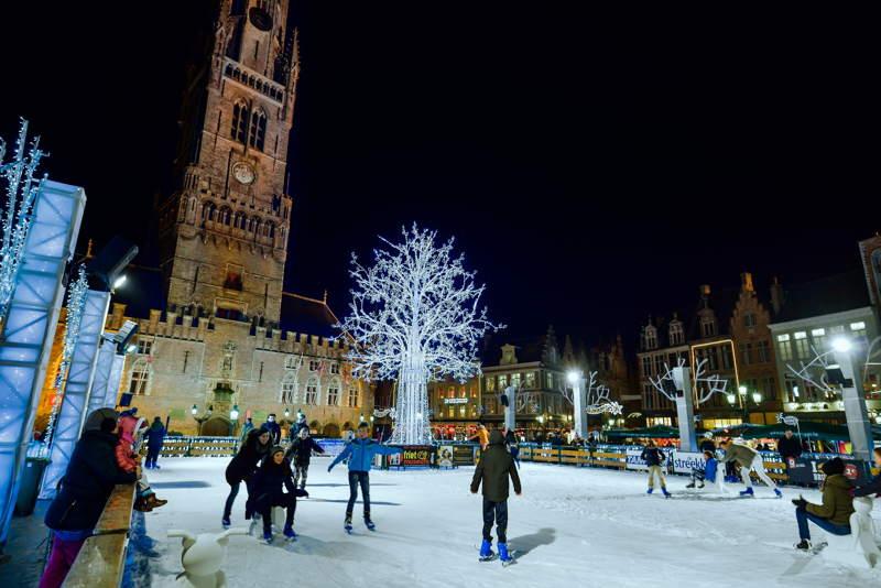 Mercatino di natale 2016 a Bruges