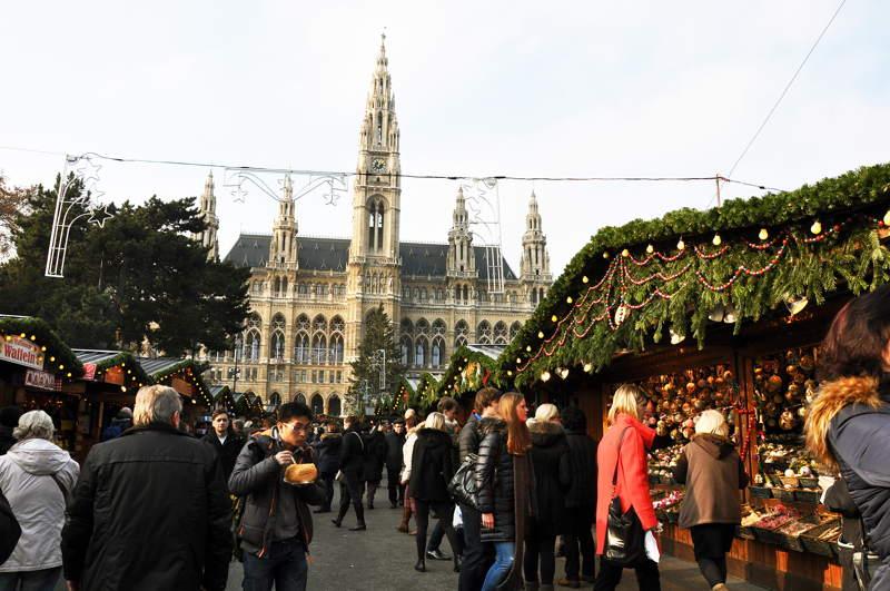 Mercatino di Natale a 2016 a Vienna